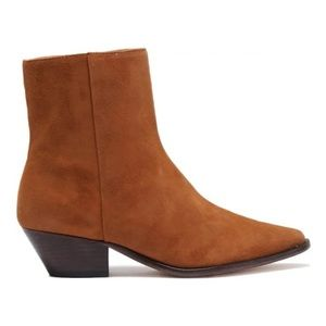 SCHUTZ Bethany Suede Ankle Boot 6.5